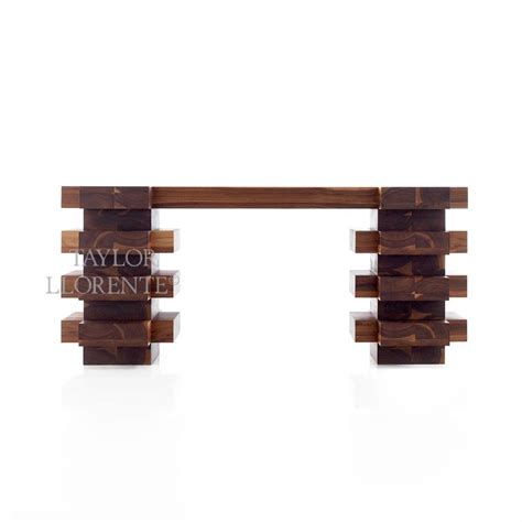 solid walnut console table solid walnut console tables llorente furniture