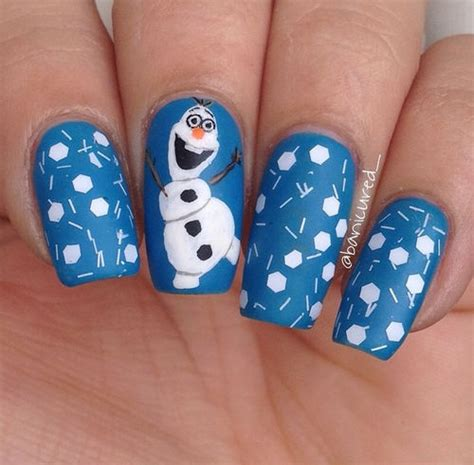 nail art olaf tutorial frozen olaf nails pictures photos and images for