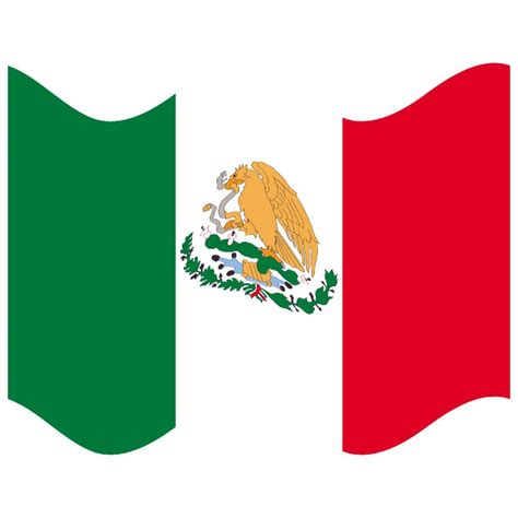 mexican flags clipart mexico flag vector clipart best