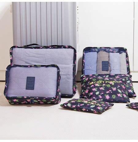 Travel Storage Bag thick waterproof 7 piecel travel storage bag