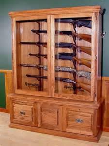 horizontal gun cabinet wooden gun cabinet plans free plans woodworking