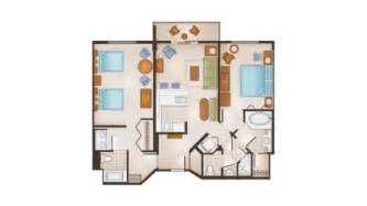 saratoga springs two bedroom villa floor plan disney s saratoga springs resort and spa dvc rental store