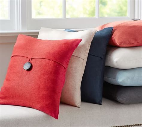 Pottery Barn Linen Pillow Covers by Textured Linen Pillow Cover Pottery Barn Guest Room