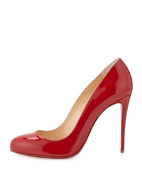 Patent Pumps lyst christian louboutin dorissima patent leather pumps