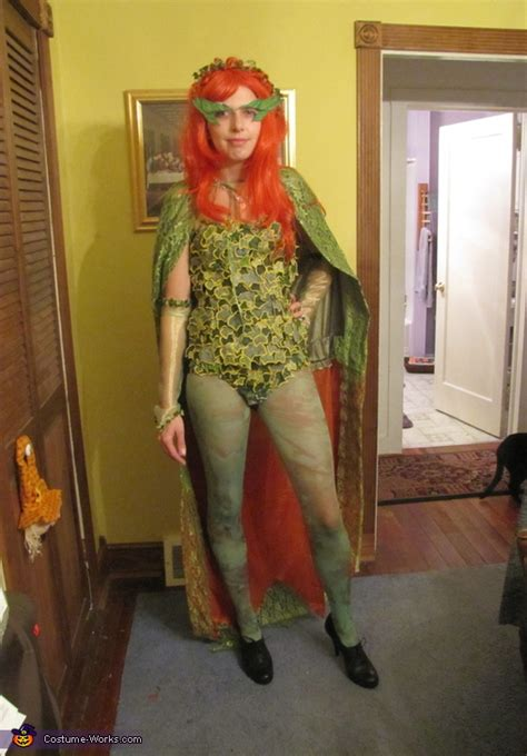 batman robin  poison ivy costumes original diy