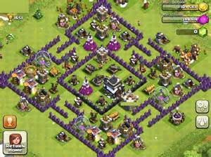 Clash of clans builder best town hall 9 layouts heavy com