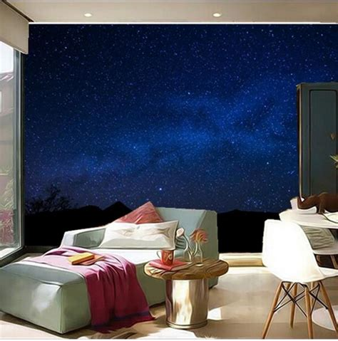 sky wallpaper for bedroom night sky wallpaper bedroom gallery