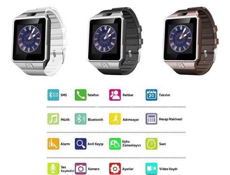 DZ09 Smart Watch Ak?ll? Saat