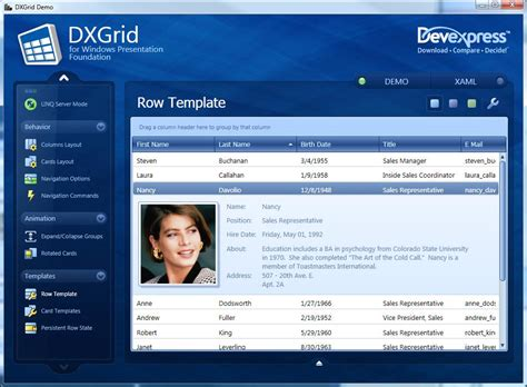 wpf ui templates smooth silky sleek sweet meet dxgrid for wpf ctodx