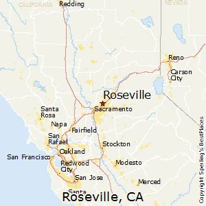 california map live best places to live in roseville california
