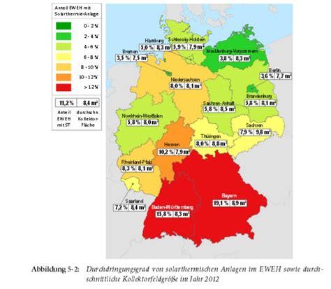 Wie Groß Ist Deutschland In M2 by Solarthermiemarkt Deutschland In Vielen Bildern