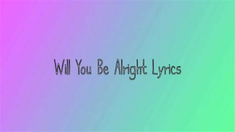 beast will you be alright will you be alright lyrics beast b2st