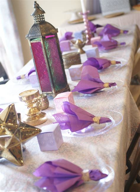 Purple And Gold Baby Shower by By Viktoria Muted Moroccan Shades Of Purple And Gold