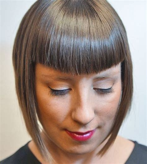 u shape with bangs 40 refreshing variations of bangs for round faces