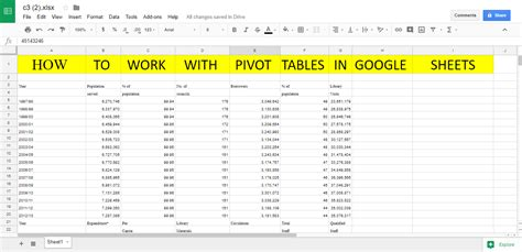 Web Based Excel Spreadsheet by How To Work With Pivot Tables In Sheets