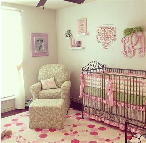 green and pink nursery pink and green nursery nursery ideas pinterest