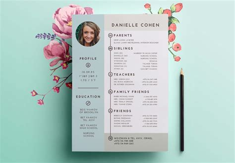 dating resume profile design shira ink