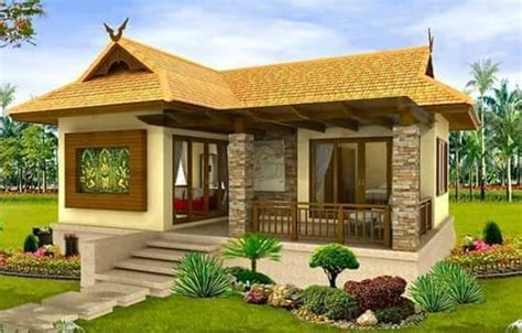 small beautiful bungalow house design ideas ideal  philippines gardens pinterest