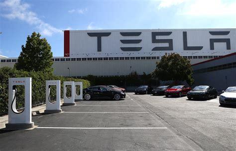 Tesla Showroom Fremont Tesla Breaks Ground On Potential Nevada Site For Battery