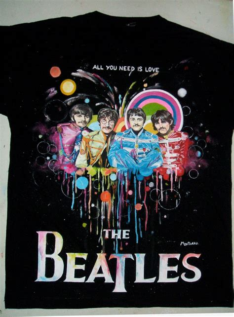 Handmade Shirts - the beatles t shirt handmade by montivero on deviantart