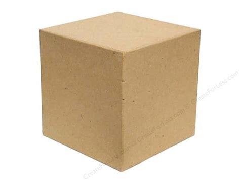 Square Craft Paper - paper mache block square by craft pedlars 4 in