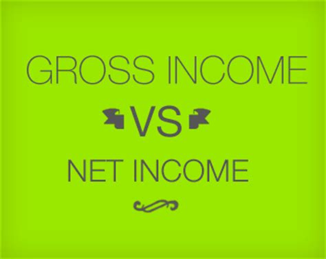 gross vs net income what s the difference