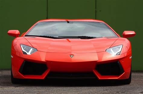 lamborghini aventador front the lamborghini huracan gives its costlier sibling the