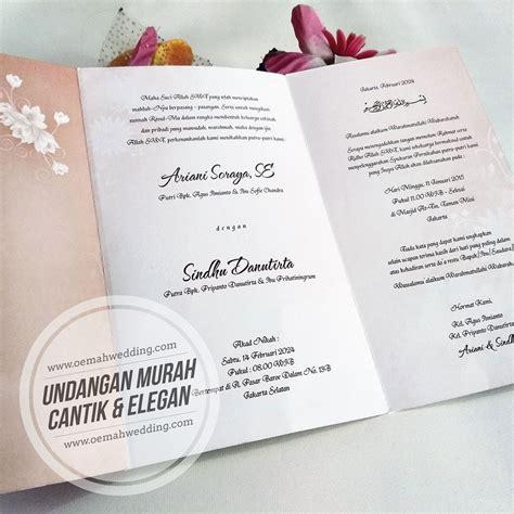 Harga Model Undangan Pernikahan by Model Undangan Pernikahan Harga 2000 Seri C 12 Wa