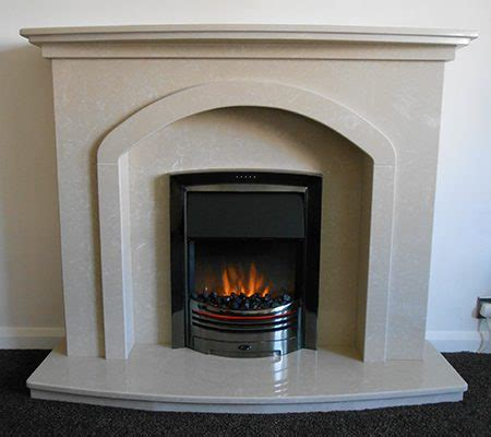 Denton Fireplace by Marble Flames Of Sheffield