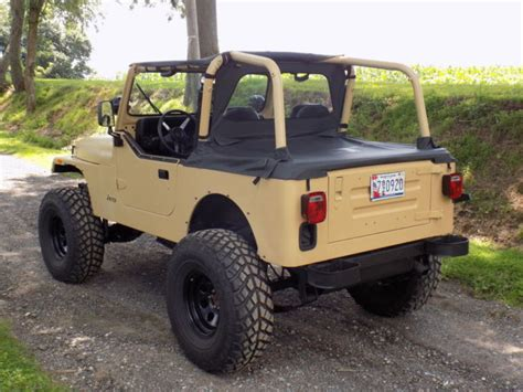 jeep tires 35 adventure ready jeep wrangler yj 6 quot lift 35 quot tires 4