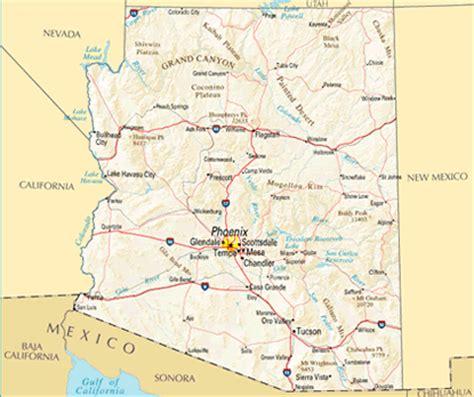 printable road map arizona arizona printable state maps pictures to pin on pinterest