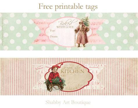 a4 printable christmas gift tags printable christmas food gift tags shabby art boutique