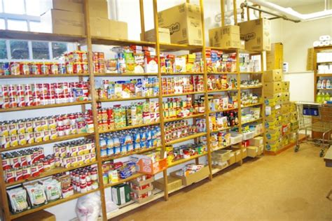 Sudbury Food Pantry using the pantry