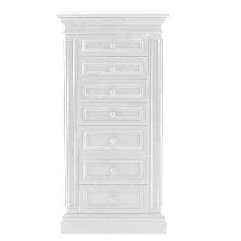white jewellery armoire home decorators collection hton harbor white jewelry
