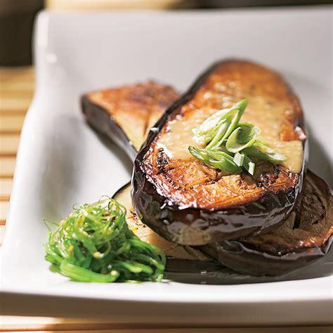 cuisine japonaise recette aubergines 224 la japonaise recettes cuisine et