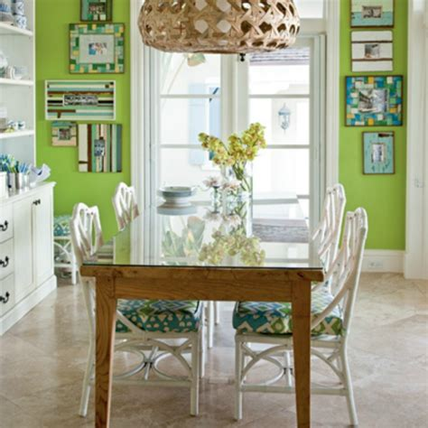Green Dining Room by How To Guide Create Mood With Color
