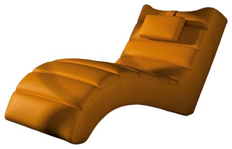 Orange Chaise Lounge Indoor Los Angeles Chaise Lounge Contemporary Indoor Chaise Lounge Chairs By Maximahouse