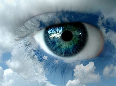 seeing blue lights spiritual eye health and traditional chinese medicine eye massage video