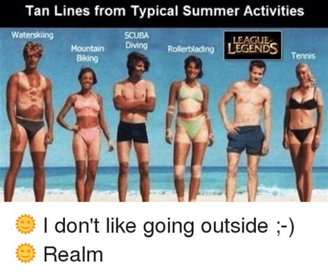 25 best memes about tan lines from typical summer