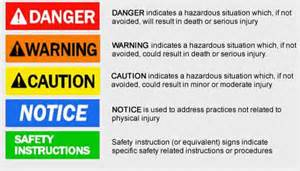 safety colors manufacturer of durable custom product labels garland