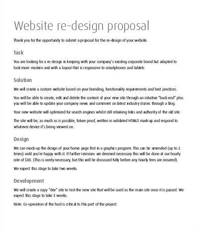 website design proposal doc website design proposal 8 free word pdf documents