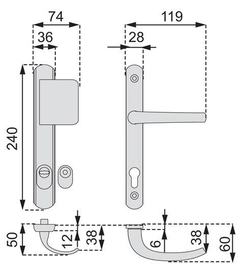vachette de porte quincaillerie poignee de porte de securite