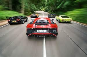 Lamborghini V12 Cars Absolute Bull 50 Years Of V12 Lamborghinis Car February