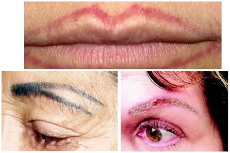 tattoo eyeliner gone wrong avoid being disappointed with your permanent make up by