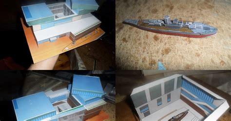 Paper Craft Museum - ninjatoes papercraft weblog papercraft kure maritime