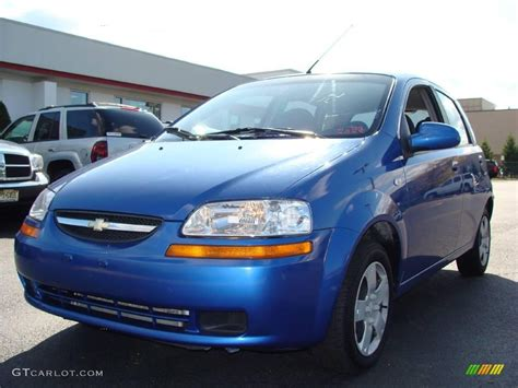 Bright Ls by 2006 Bright Blue Chevrolet Aveo Ls Hatchback 19217982