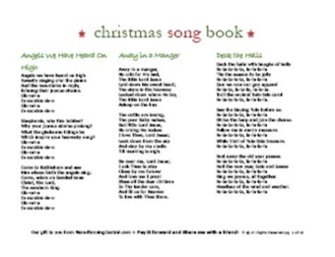 printable christmas carol lyrics pdf christmas carol song book over 30 songs free ebook