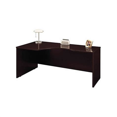 bush business series c left corner desk and bow front