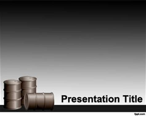 powerpoint templates free oil petroleum powerpoint template