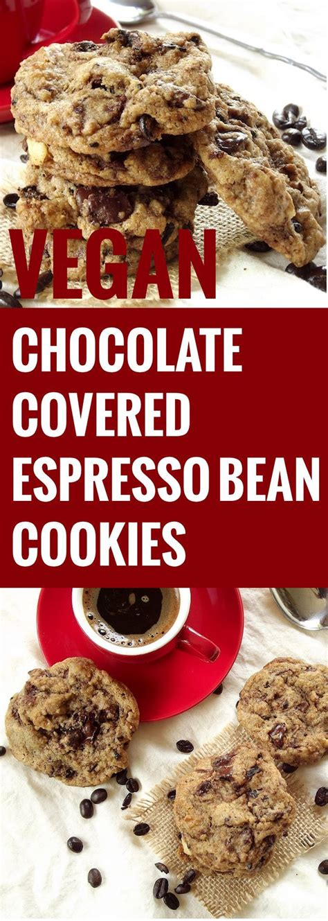 Chocolate Mousse Coffee Bean chocolate covered espresso bean cookies recipe